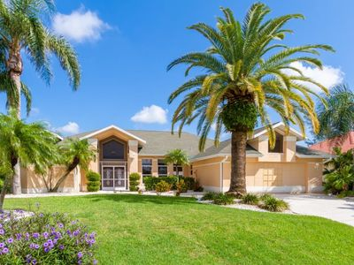 Photo for SW Cape Coral | Gulf Access | Upscale neighborhood, office and spacious kitchen