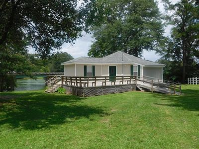 Photo for Newly renovated, LAKEFRONT house located on beautiful Smith Lake
