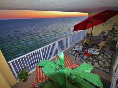 Photo for Beachy, Relaxing, 2 BR Gulf Front Condo in Ocean Reef - FREE Beach Service!!