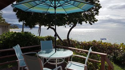 Photo for BEACH FRONT! Cool Hawaiian Style Beach Bungalow, Everyday low rates!