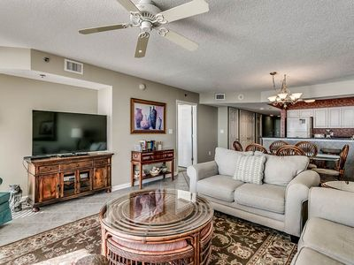 Photo for Crescent Shores 1108, 3 Bedroom Beachfront Condo, Hot Tub and Free Wi-Fi!