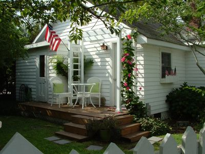 Photo for Beach cottage  in Heart of Old Town Manteo  on Roanoke Island , OBX