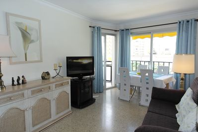 Piso Rosa - Living & Dining  area