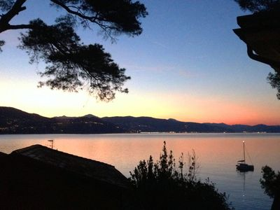 Photo for Large apartment, 50 meters from the beach between Santa Margherita and Portofino
