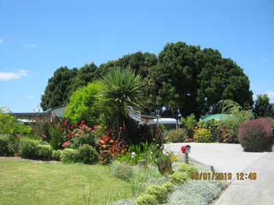 Photo for Serendipity - secluded garden setting in Mangawhai Village