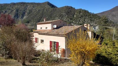 Photo for House with flower garden in Entrevaux.