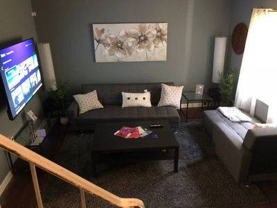 Photo for 2BR/1.5BA 5min from Airport and City Big Backyard Wifi