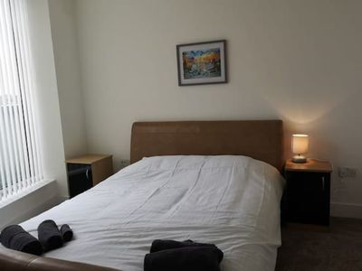 Photo for Light modern City apartment w super view & parking