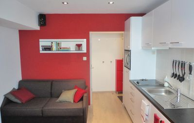 Photo for 1BR Apartment Vacation Rental in Oostende