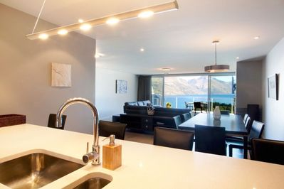 Open Plan Kitchen, Living, Dining and Balcony