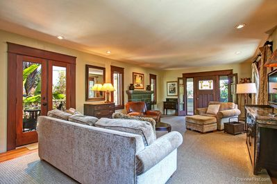 Historic Craftsman styling  with modern comforts