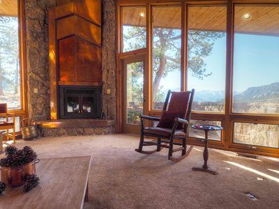 Photo for Stutzhaven in the Mountains - Gorgeous Views of the Continental Divide! -- EV #3436