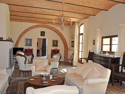 Photo for 9 bedroom Villa, sleeps 20 in Villa Montesoli with Pool, Air Con and WiFi