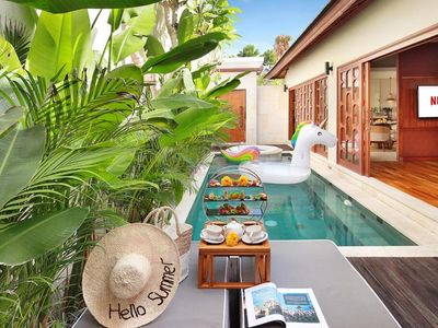Photo for One Bedroom Private Villa+Pool Non Breakfast from A svara