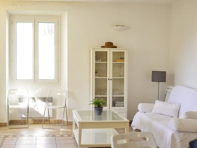 Photo for Spacious and Bright 2 bedroom Old Town Antibes