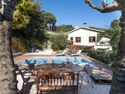Photo for COLE - INTIMATE and PLEASANT - House with private pool, huge garden, barbecue, wifi and fantastic views