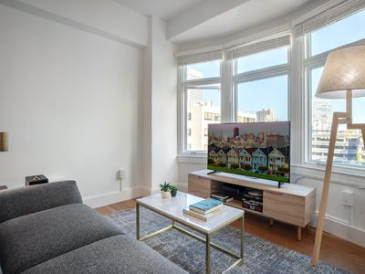 Photo for Lux Nob Hill 1BR w/ W/D + City View 7 mins to Union Sqaure by Blueground