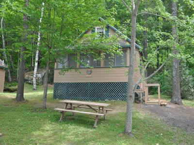 Photo for 2BR Cottage Vacation Rental in Leeds, Maine