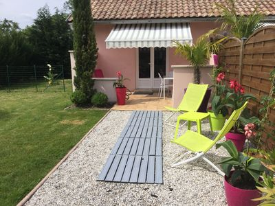 Photo for ARCACHON BASIN FULL STUDIO WITH GARDEN AND PRIVATE PARKING