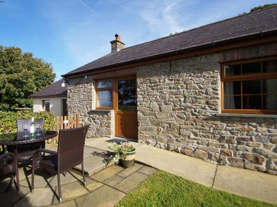 Photo for With fishing facilities and hot-tub this cottage is on a working farm
