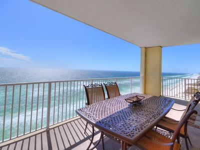 Photo for AUGUST SPECIALS!!BEAUTIFUL BEACHFRONT END UNIT*HUGE BALCONY*FREE BEACH SERVICE*