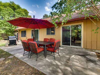 Photo for NEW LISTING! Dog-friendly home w/ a private patio & barbecue - plus free WiFi