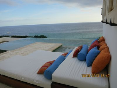 Photo for Grand Solmar Lands End 4 bedroom oceanfront penthouse with private pool