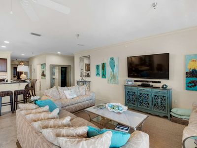 Photo for Luxury 30A Penthouse Condo - Seacrest - 2 Community Pools & Family Friendly!