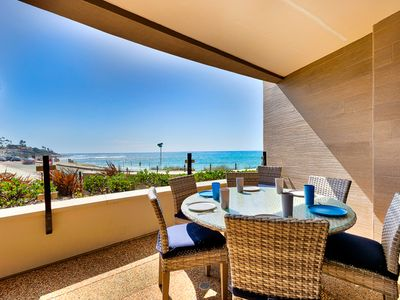 Photo for Stunning New Luxury Oceanfront Condo, Steps to Sand w/ Views