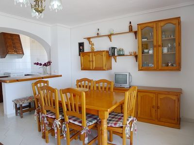 Photo for Apartment 1.3 km from the center of Calp with Lift, Washing machine, Balcony (90549)