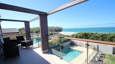 Photo for BEACH FRONT HOUSE WITH POOL!