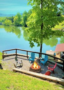 Photo for Perfect Fall Setting to Getaway and Enjoy the Great Outdoors Lakeside