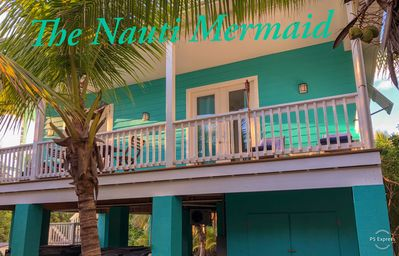 Photo for Brand New Beach House THE NAUTI MERMAID- Steps from beach - walk to everything!