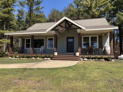 Photo for Beautiful New Home on 120 Acres of private land. 10 Miles from Wisconsin Dells