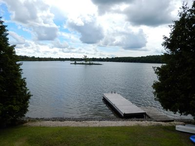 Photo for Waterfront Cottage-Sleeps 8 Guests-Large Dock-6 Boats-Fall Dates Available