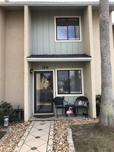 Photo for 3 minute walk to white sugary beaches town home is in gated community.