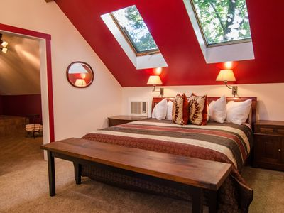 Photo for Romantic Suite with a Whirlpool Tub and Full Breakfast in downtown Shelburne, VT