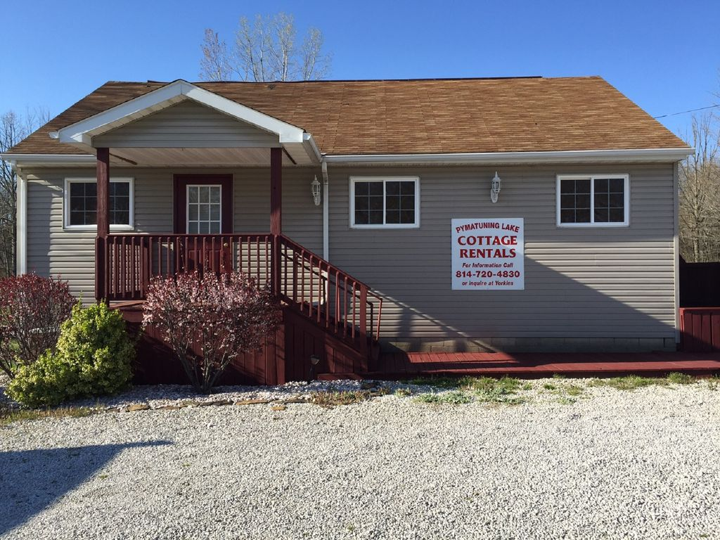 Newly remodeled 2 bedroom 1 5 bath pymatuning lake for 1 bed 1 5 bath
