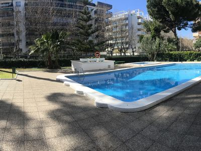 Photo for 120- GISAMAR- Two bedrooms apartment with swimming-pool