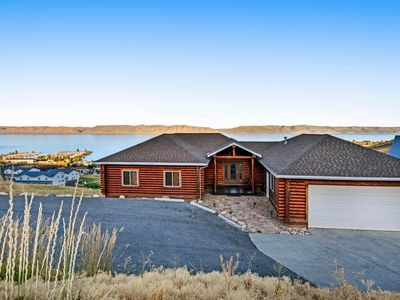 Photo for Bear Lake Cabin w/ beautiful views & a full kitchen - close to boating & trails!