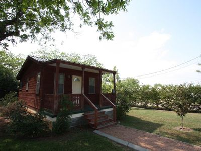Photo for Waldrip Cabin in Town Property Just a Short Drive to Main Street