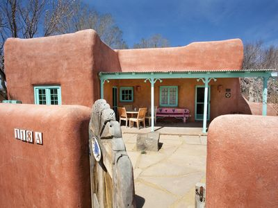 Photo for Casa Pájaro Artist Adobe House on historic La Loma Plaza