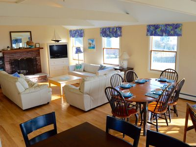Photo for 3 minute walk to the beach, panoramic water views -pet friendly