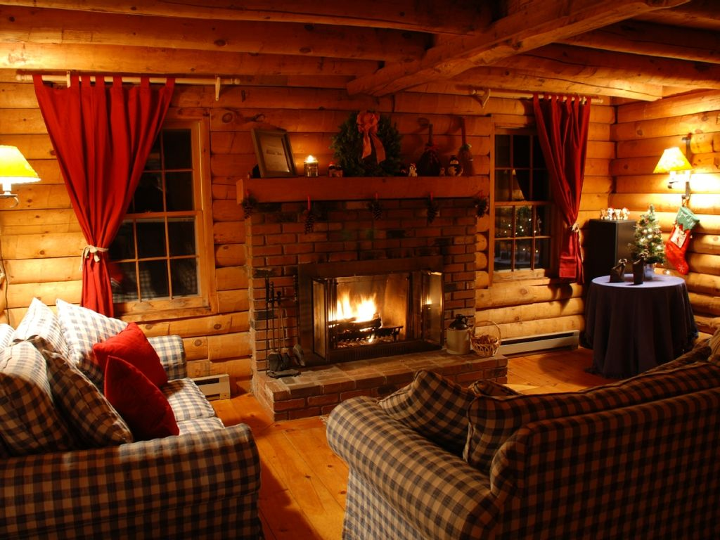 Cabin Rental Maine Hot Tub Dog Friendly