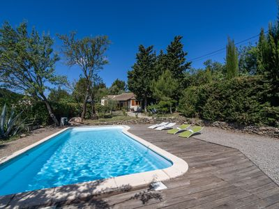 Photo for Huge Villa in Montbrun-des-Corbières with Swimming Pool