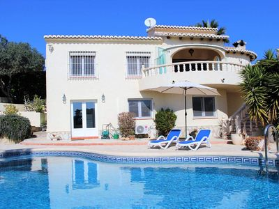 Photo for Stunning 4 bedroom 4 bathroom villa with Sea Views