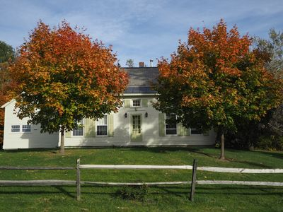 Photo for 4BR Farmhouse Vacation Rental in west rutland, Vermont
