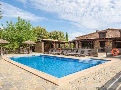 Photo for Large villa for 20pax, 45min from Barcelona, BBQ, WiFi
