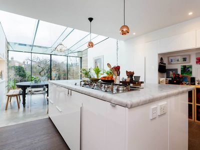 Photo for 5 bed house, sleeps 7 with garden, reach central London in 30 mins (Veeve)