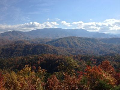 Four Bears Hideaway View- Fall 2017.